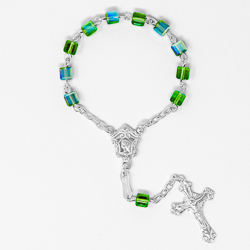 Sterling Silver One Decade Rosary.