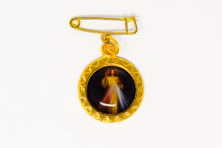 Divine Mercy Lapel Pin.