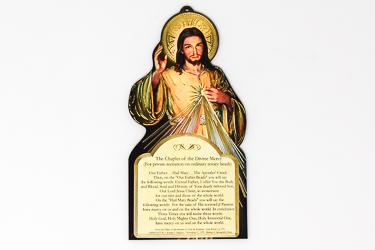 Divine Mercy Plaque.