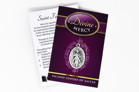 Divine Mercy Medal.