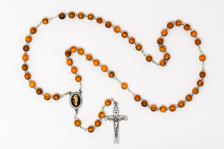 Divine Mercy Olive Wood Rosary.