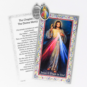 Divine Mercy Prayer Card.