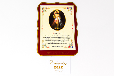 2022 Divine Mercy Calendar.
