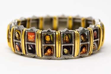 All Saints Metal Bracelet