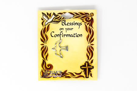 Confirmation Dove Pin.