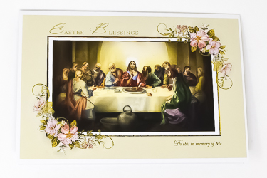 Easter Blessing Card.