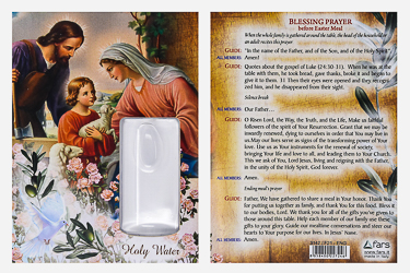 Easter Holy Water Vial & Prayer Card.