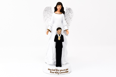 First Holy Communion Statue.