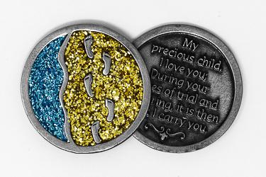Footprints Pocket Token.