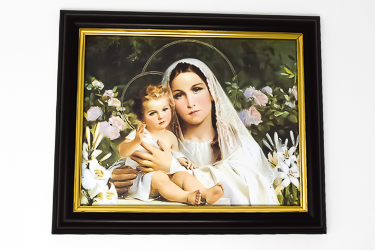 Mother & Child Framed Picture.