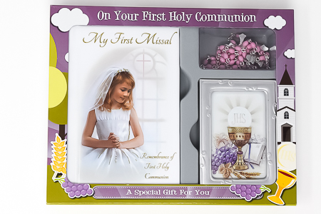 First Holy Communion Gift Set.