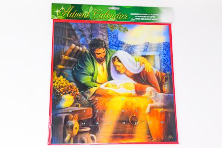 Mary & Joseph Advent Calendar.