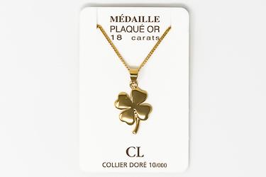 God's Grace Gold Necklace.