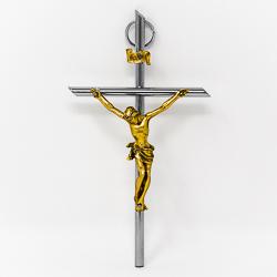 Gold & Silver Crucifix.