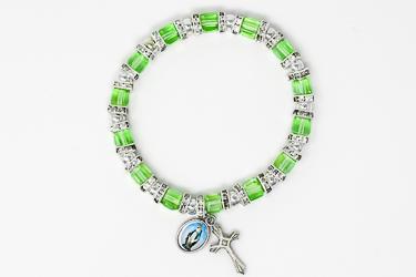 Green Crystal Miraculous Bracelet.