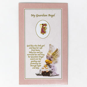 Guardian Angel Baby Brooch.
