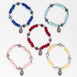 Single Decade Rosary Bracelet.
