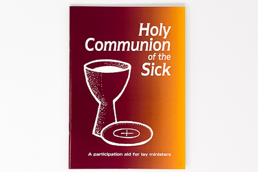 Holy Communion Of The Sick Book.