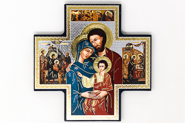 Holy Family Wall Plaque.