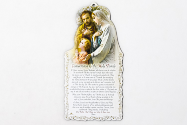 Holy Family Plaque.