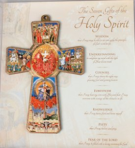 7 Gifts of the Holy Spirit cross.
