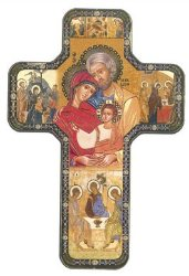Icon Holy Family Wall Plaque.