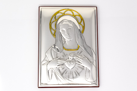 Immaculate Heart of Mary Wall Plaque.