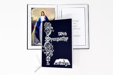 In Loving Memory Miraculous Mass Card.