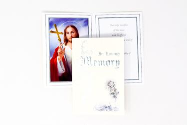 In Loving Memory Mass Card.