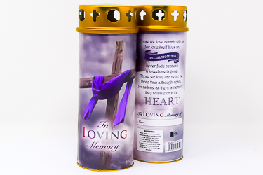 In Loving Memory Candle.