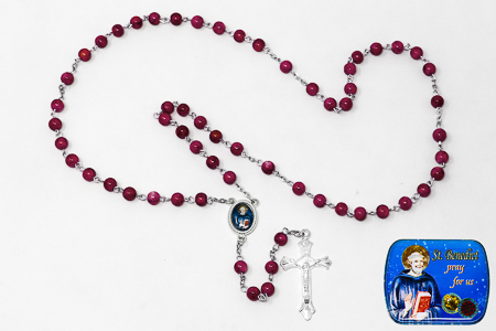 St Benedict Rosary Beads.