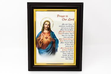 Sacred Heart Framed Picture.