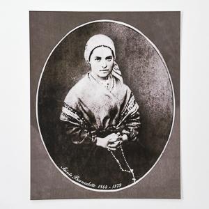 Photo of St Bernadette.