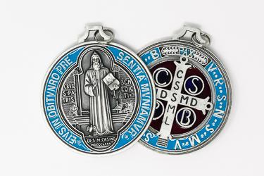 Large St Benedict  Medal.