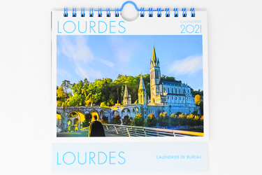 Desktop Lourdes 2021 Calendar.