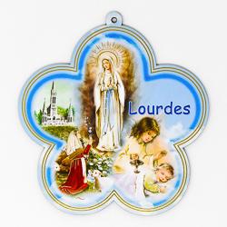 Lourdes Medallion Plaque.