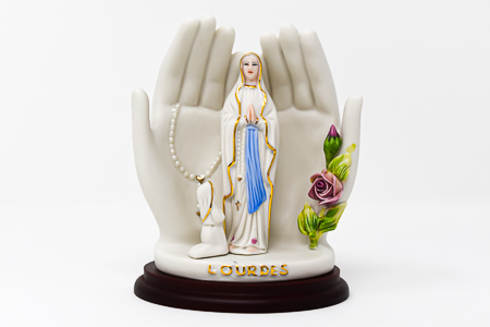 Apparition Hand Statue.