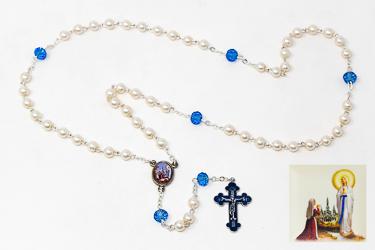 Lourdes Rosary Beads.