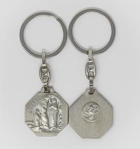 Lourdes Key Chain.