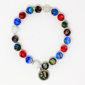 Murano Rosary Bracelet.