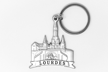 Lourdes Sanctuary Key Ring.