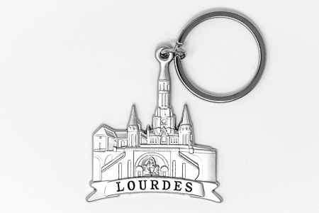 Lourdes Sanctuary Key Ring.