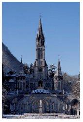 Lourdes Sanctuary Prayer Card.