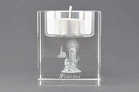 Tea Light Crystal Candle Holder.