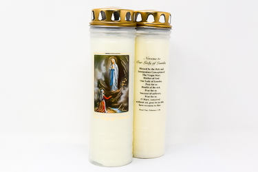 Our Lady of Lourdes Vigil Candle 7 Days & 7 Nights.