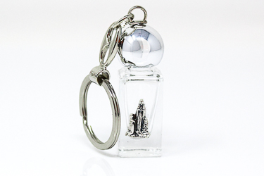 Lourdes Water Key Chain.