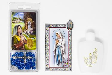 Lourdes Water Gift Set.