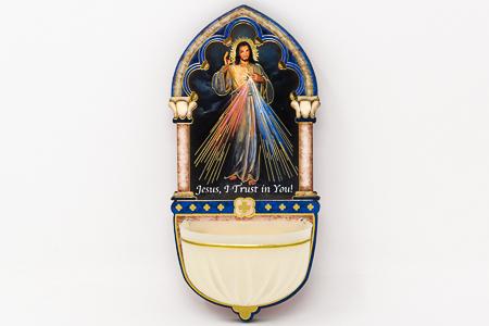 Divine Mercy Luminous Holy Water Font.