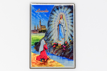 Lourdes Apparitions Magnet.