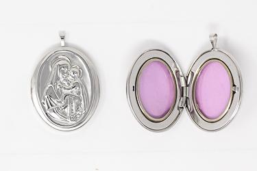 Mary & Baby Jesus Locket Pendant.